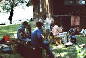 Infinity Art Unit live in Minnetonka, July 5, 1975